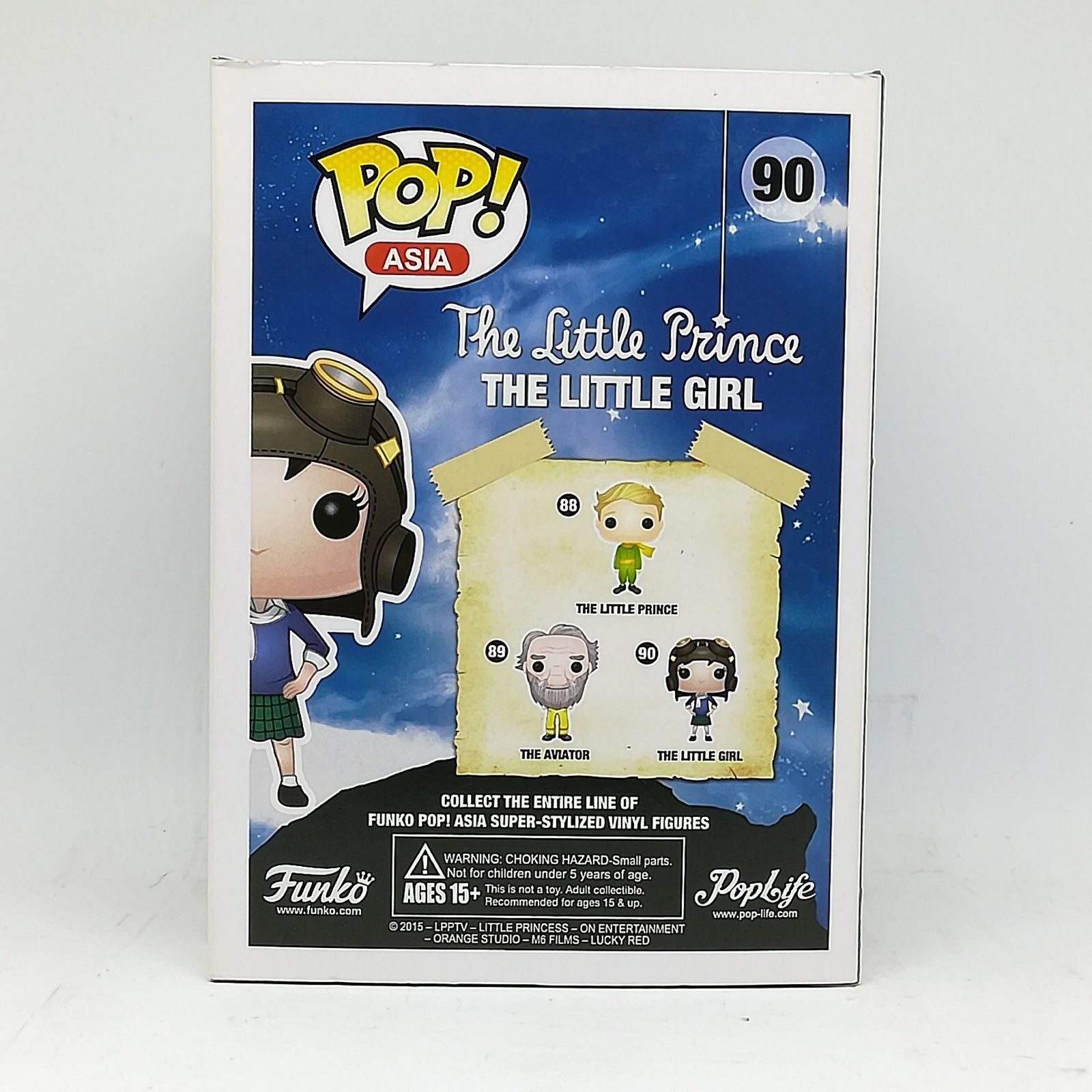 #90 Genuine Funko POP Asia The Little Girl Prince Figure Collectible Gift Toy