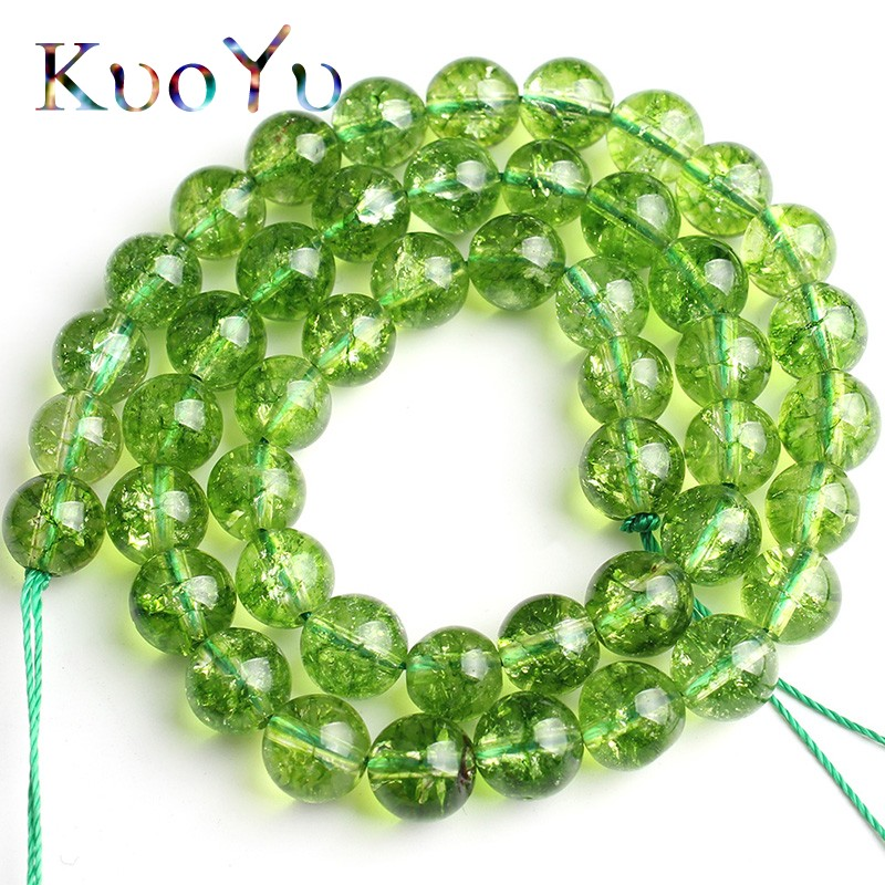 Wholesale GREEN JADE Round Loose Spacer BEADS 6MM /& 8MM 10MM 12MM Choose 4MM