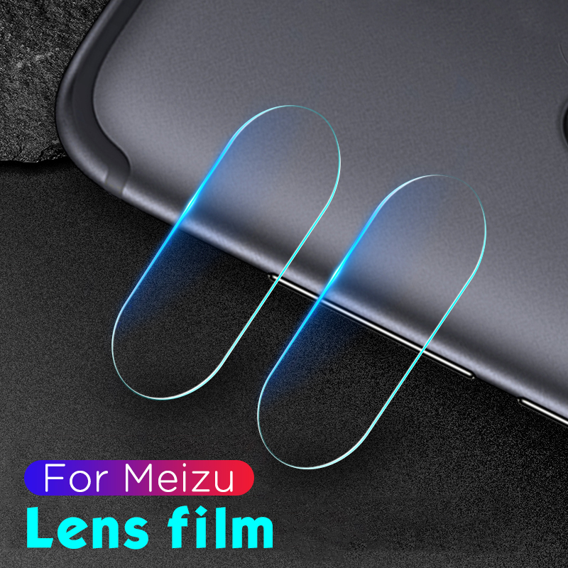 2PCS Back Camera Lens Film For Meizu Pro7 16 Plus Lens Screen Protector For Meizu X8 Pro 7 16th M5 Note 8 Plus HD Tempered Glass