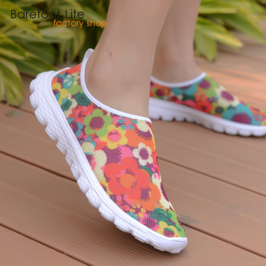 Barefoot life summer women walking shoes air mesh breathable shoes Eva outsole light women shoes sneakers