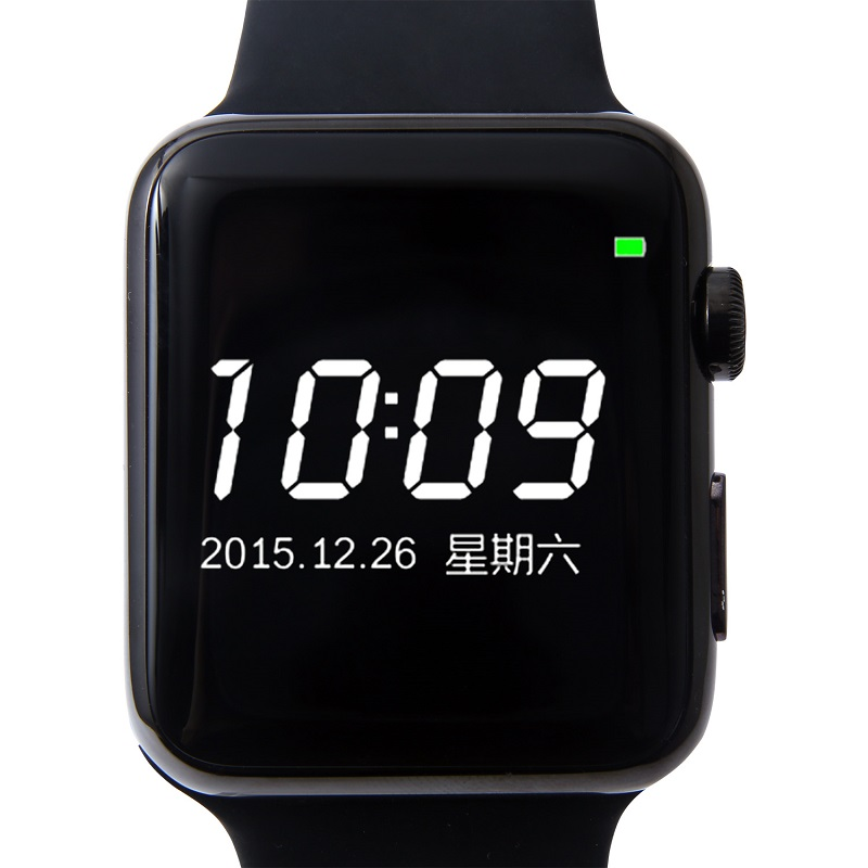 ФОТО 1.54HD IPS screen Bluetooth 4.0 heart rate monitoring Smart watche Bluetooth MP3 Player W51 for Android iOS PK A9