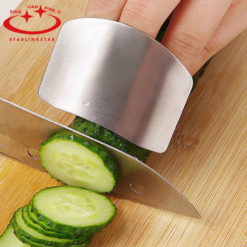 Kitchen Hand Tools And Their Uses With Pictures: 1 Pc Finger Protector Stainless Steel Cutting Vegetable