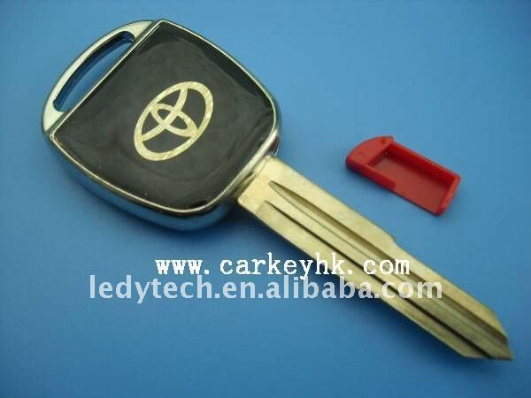 Hot sell*New style Toyota transponder key shell with right blade