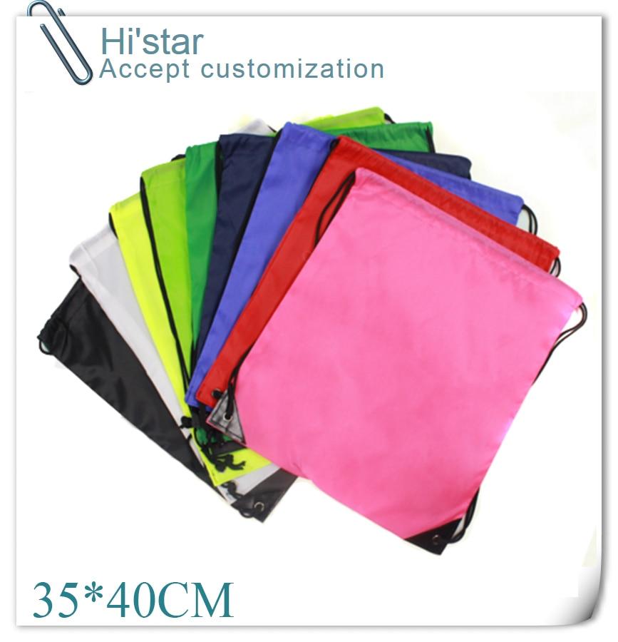 35*40cm drawstring oxford Reusable sports bag unisex Storage Bags for gym/clothes/footbal Fashion sports Bag