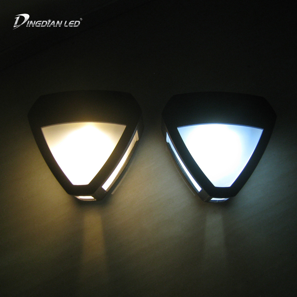0 12W 2 LED Aluminium wall light rail project Square LED wall lamp bedside room bedroom wall lamps arts in LED Indoor Wall Lamps from Lights Lighting