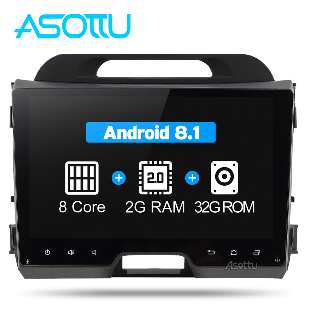 Android 8 1 Octa 8 core car dvd for KIA sportage 2011 2012 2013 2014 2015