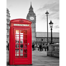 Realist London Landscape Canvas Painting Big Ben Wall Art Posters And Prints Street Art Wall Pictures For Living Room Decoration realist interviewing