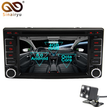 Sinairyu Android 8,0 Octa Core dvd-плеер автомобиля для Subaru Forester Impreza 2008-2011 gps Navi Мультимедиа Радио стерео головное устройство