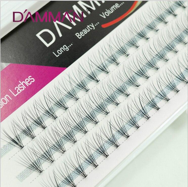 HUAPAN Mink Hair False Eyelashes Grafting Lash C Curl 8~12mm 0.07mm High Quality Extension Individual Lashes Natural Long Lashes