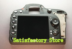 Original Bare Rear Back Cover Replacement + Button For Nikon D7100 Camera