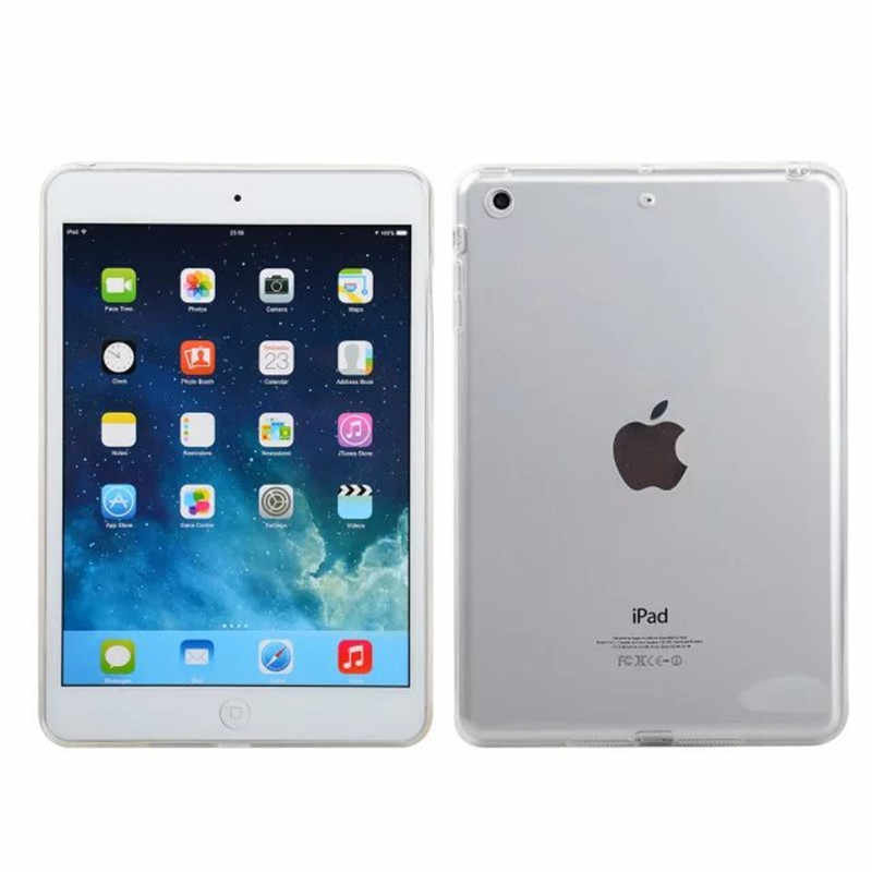 Funda suave Ultra fina de TPU para Ipad 2 3 4 cubierta de cristal transparente Ultra delgada para tableta Ipad4 ipad 3 Ipad 2