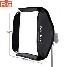 Godox 40x40cm Softbox (רק softbox) עבור מצלמה סטודיו פלאש fit Bowens Elinchrom הר