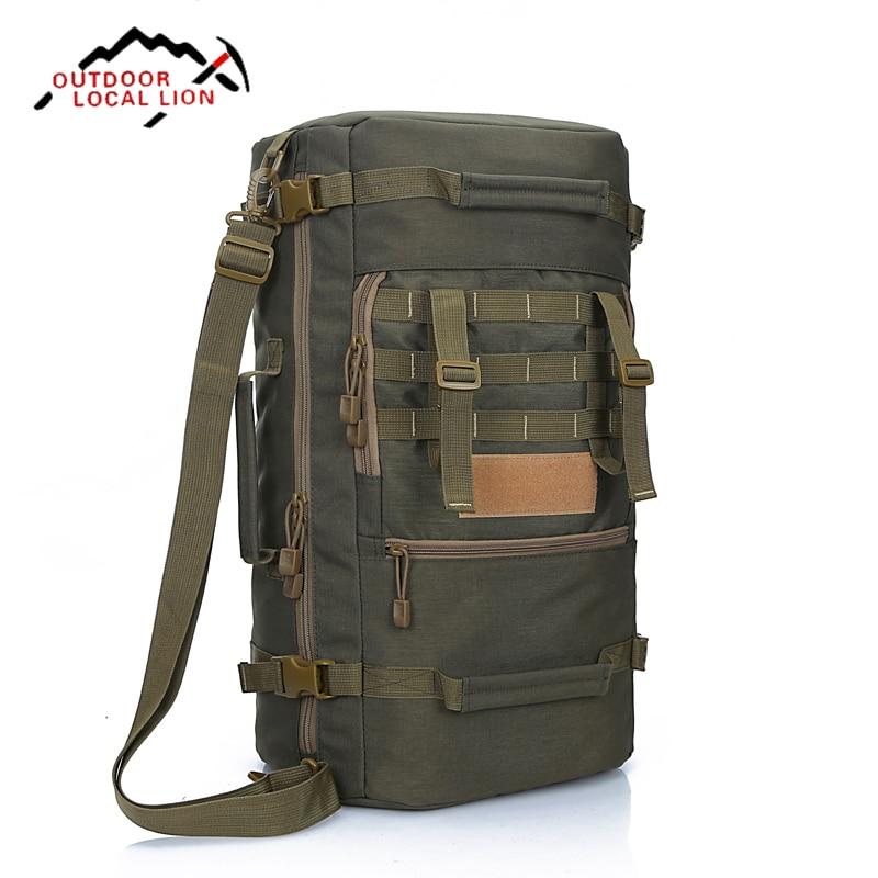 ФОТО 50L Hiking Backpack Outdoor Camping Backpacks Professional Multifunction Trekking Bags Rucksack Bolsas Mochila
