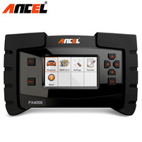 Diagnostic Tool ANCEL FX4000 OBD2 Scanner Full System Engine Transmission ABS SRS SAS Oil Reset Audto