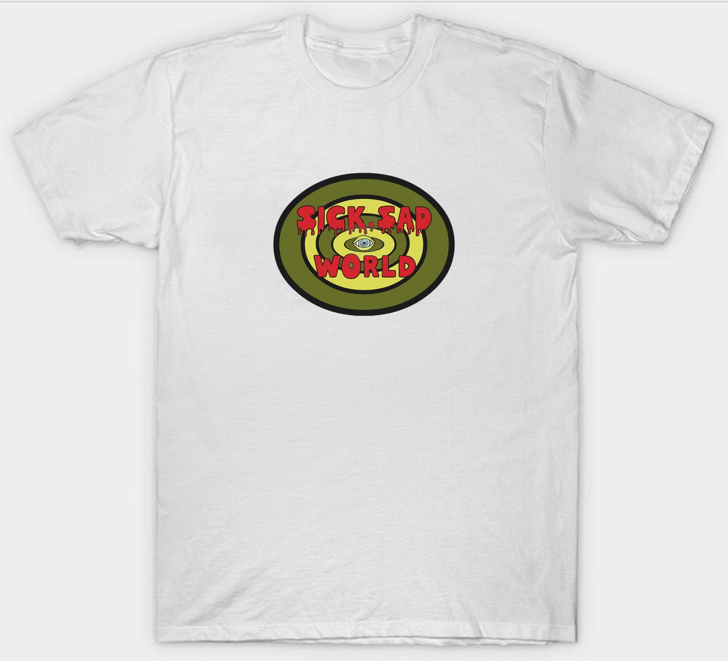 DARIA T SHIRT SICK SAD WORLD TV SERIES RETRO BIRTHDAY GIFT Casual T-Shirt Male Short Sleeve Pattern Hipster Personality
