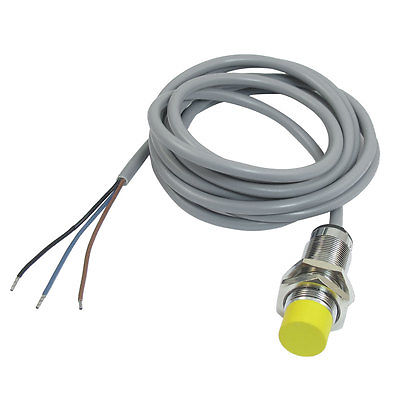 NPN NO 8mm Tubular Inductive Proximity Sensor Switch Detector DC 10-30V m18 no npn 8mm approach sensor inductive proximity switch 5vdc lj18a3 8 z bx 5v