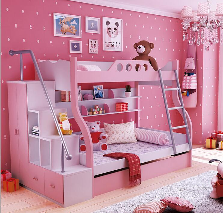 Children Bed Fluctuation Bed Bunk Bed Boy And Girl Bed