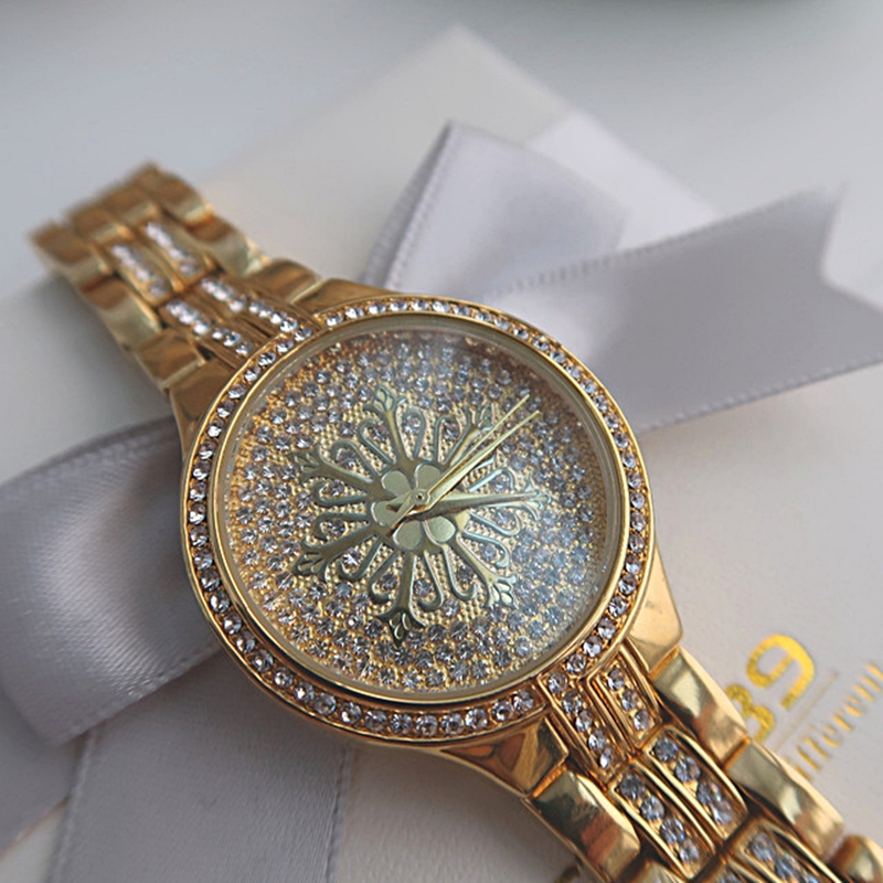 A8342 money stone watches crystals clock (3)