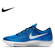 Original Authentic Nike Flyknit LUNAREPIC 8 Weaving Men's Light Running Shoes Sneakers Spo