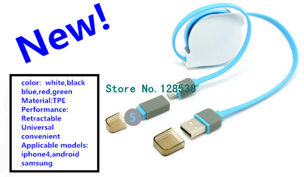 retractable usb data cable for iphone5 5s 6 7 quality tpe wire usb rh aliexpress com