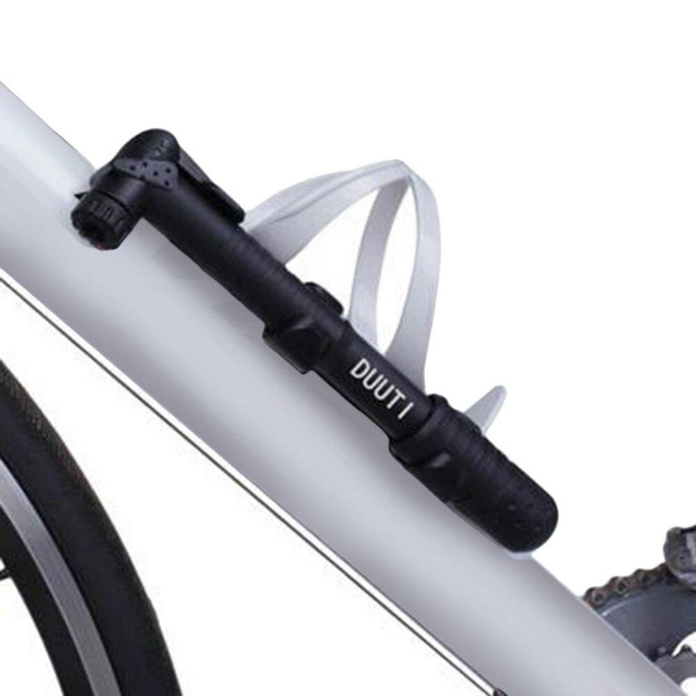 Bicycle Air Pump Mini Portable Lightweight Tyre Inflator Cycle Mountain Bike