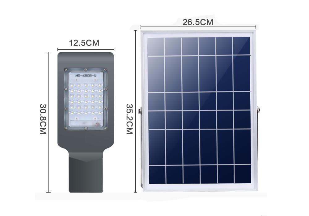 controle remoto 30 w smd3030 solar ao 02