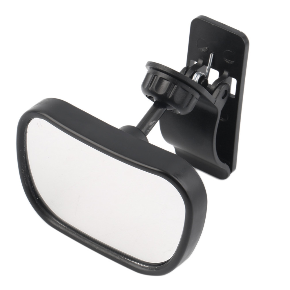 Safety Baby Kids Monitor Adjustable Car Back Seat Mirror Baby Facing Rear Ward View Headrest Mount Mirror Square Car-styling