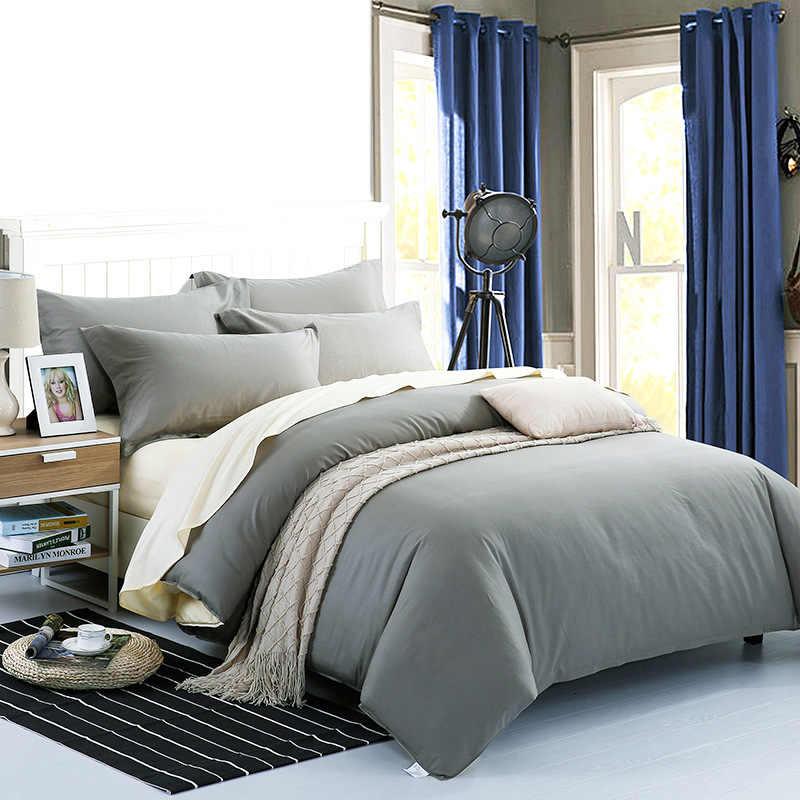 Зеленый бежевый цвет 100% хлопок пододеяльник для детей взрослых спальня использовать XF642-11 (без наволочки)