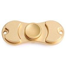 แฟชั่นมือของเล่นนิ้วสำหรับออทิสติกสมาธิสั้นปูTri-s pinnerอลูมิเนียมป้องกันความวิตกกังวลEDCอยู่ไม่สุขปินเนอร์สำหรับผู้ใหญ่มือปั่น