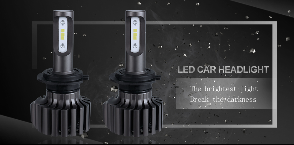 Oslamp H4 H7 H11 H1 H13 H3 9004 9005 9006 9007 9012 COB LED Car Headlight Bulb Hi-Lo Beam 72W 8000LM 6500K Auto Headlamp 12v 24v (10)