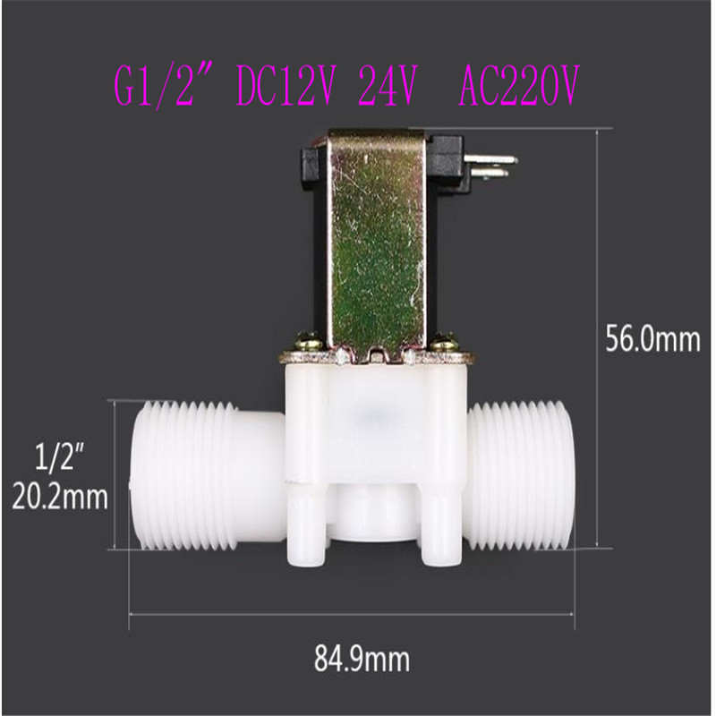 Plastic Solenoid Valve Magnetic Washing Machine Dispenser Drinking Water Pneumatic Pressure Controller Switch in Valves Parts from Automobiles Motorcycles
