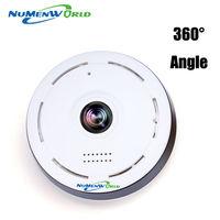 360 Degree Smart Panoramin IPC Wireless IP Fisheye Camera Support Two Way Audio P2P 960P HD