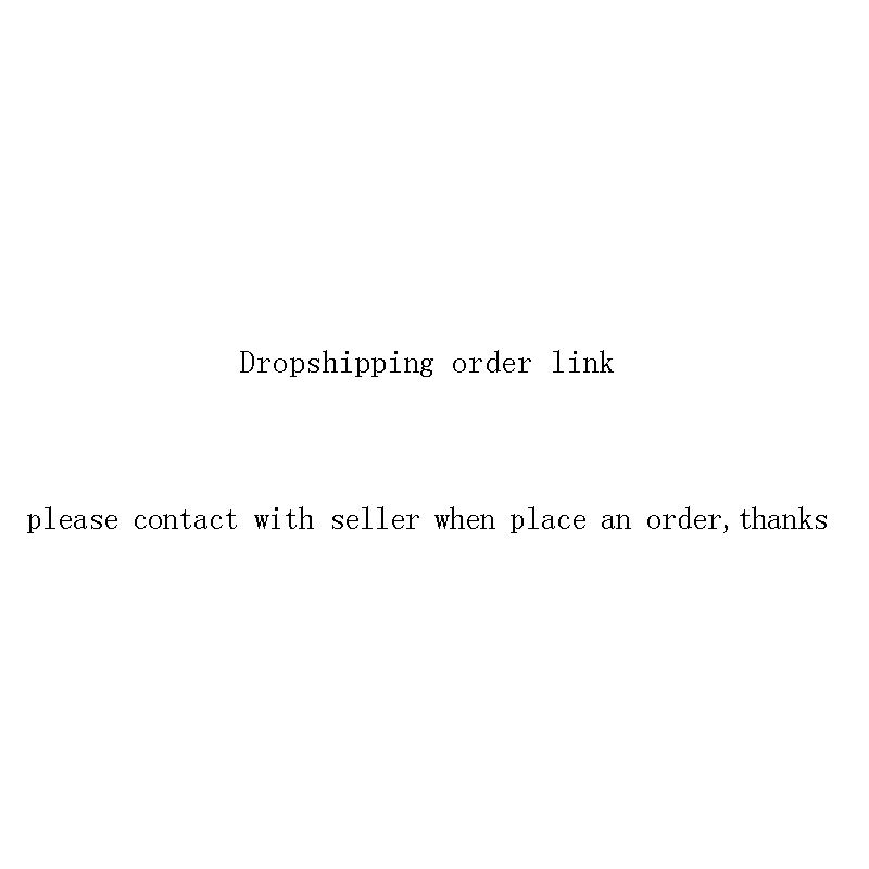 DE Dropshipping Order Link,please Contact With Seller When Place An Order,thanks