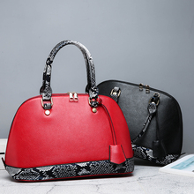 High Quality Large Luxury Shoulder Cross Women Bag Womens Lady Big Litchi Snakeskin Pattern Clutch Bags with Purse