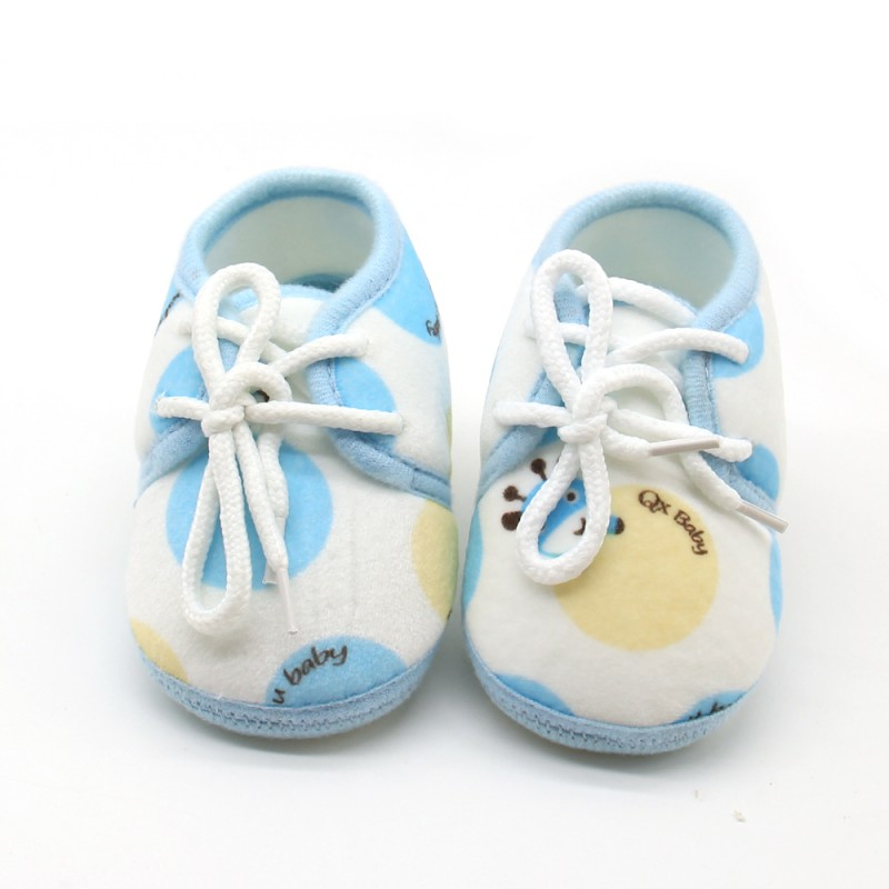 Soft Bottom Shoes Baby Lovely First Walkers Unisex Cotton Fabric Newborn Shoes Fashion 2018 Shoes M1