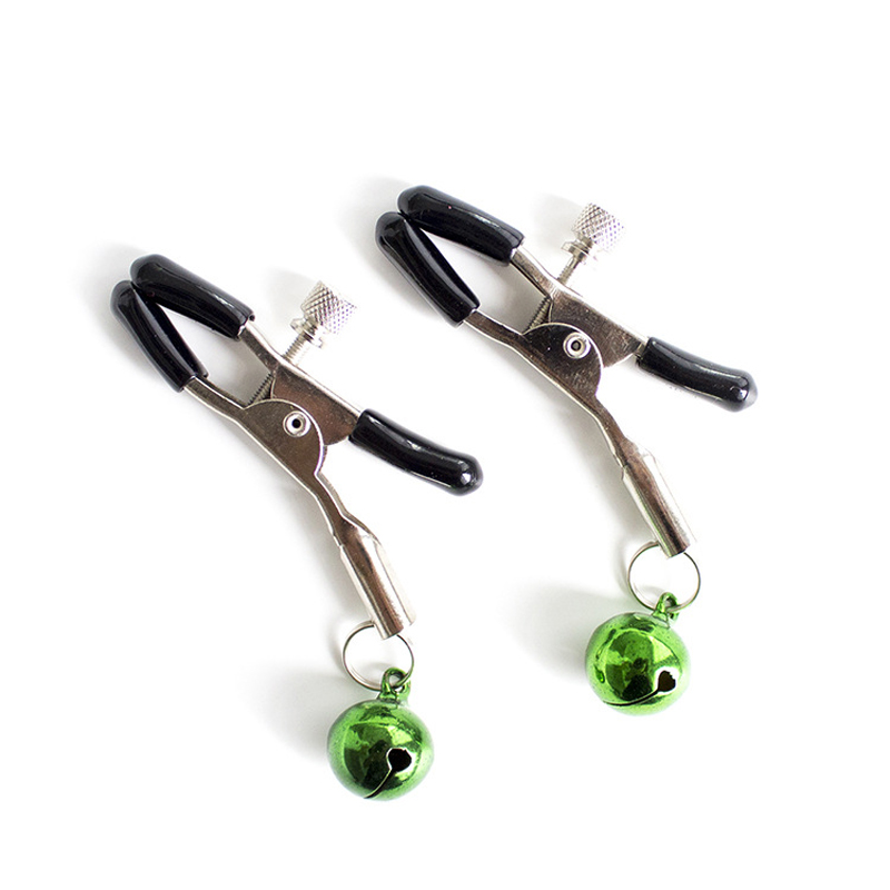 Newest Steel Breast Nipple Clamps Clips <font><b>Adult</b></font> Game <font><b>Sex</b></font> Product Flirting <font><b>Sex</b></font> <font><b>Toys</b></font> for Women image