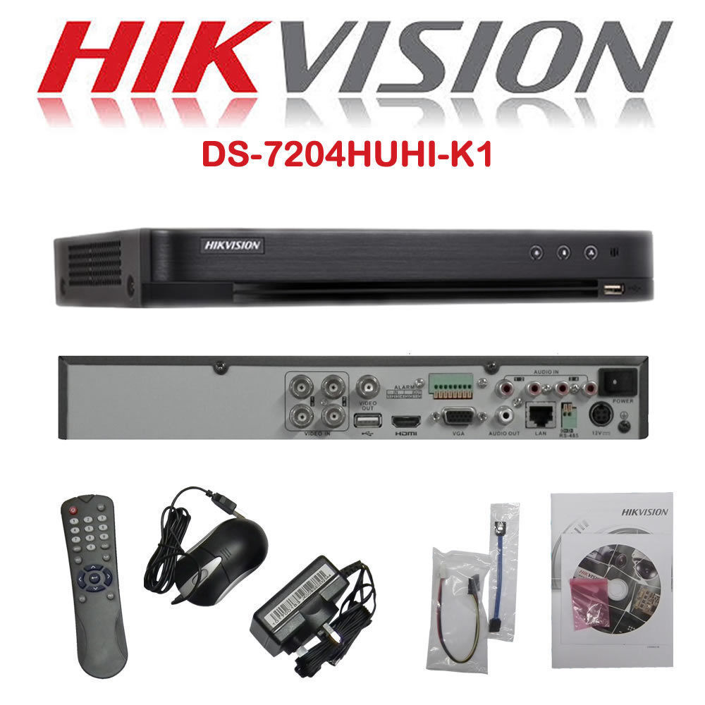 4 Channel Hikvision Dvr Turbo Hd 1080p Digital Video