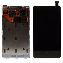Touch Screen LCD Display Frame Digitizer Assembly For Nokia Lumia N800/800 VAB05 T18 0.3