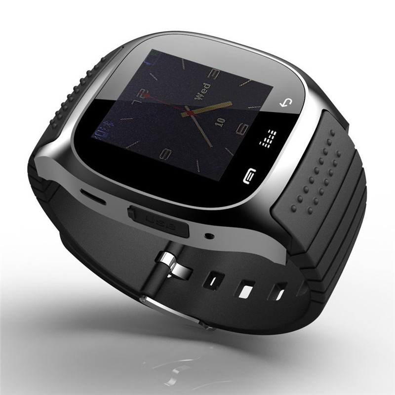 Bluetooth Wrist Smart Watch M26 Waterproof