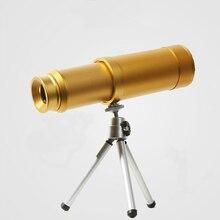 High quality pirate 10*50 telescope portable monocular High definition portable brass binoculars with tripod