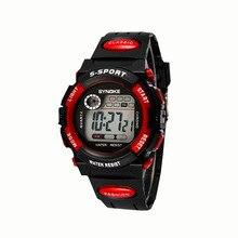 2018 модные Водонепроницаемый будильник часы светодиодный цифровой спортивные часы мужские мальчиков Дата Многофункциональный наручные часы Relogios оптовая продажа