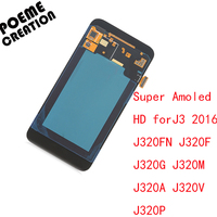 For Samsung Galaxy J3 2016 J320 J320A J320F J320P J320M J320Y J320FN LCD Screen Touch Digitize