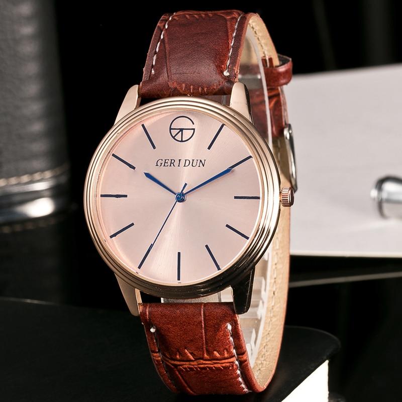 GERIDUN Fashion Herenhorloges Chronograaf & Uren Functie Heren - Herenhorloges - Foto 3