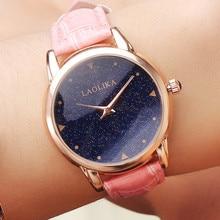 2019  Female Watch Fashion & Casual  Leather Strap Watch Student Fashion Trend Belt Quartz Watch Casual Minimalist Starry Sky