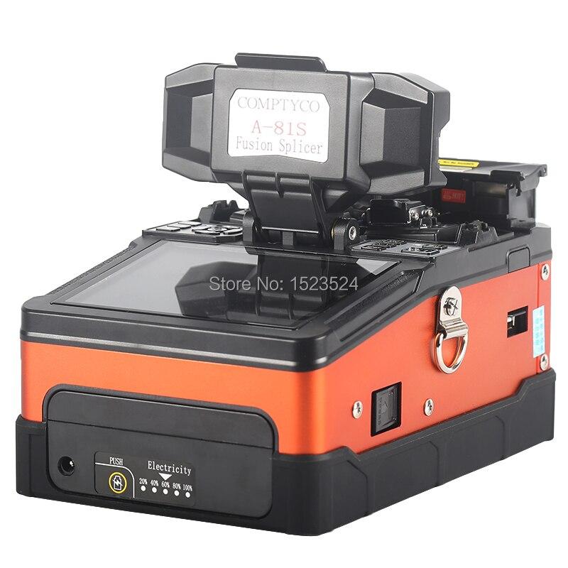 A-81S Orange Entièrement Automatique Fusion Splicer Machine Fiber Optique Fusion Splicer Fiber Optique Épissage Machine - 4