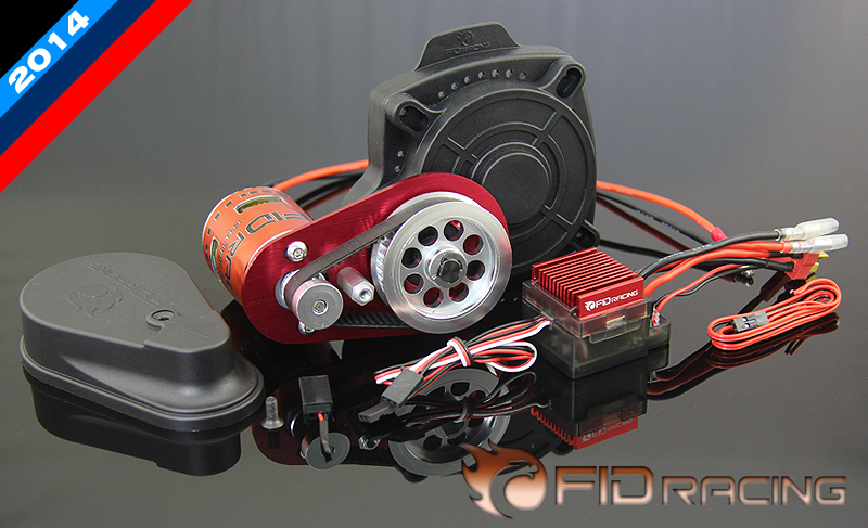 FID Remote control electric starter with new motor for Losi 5ive-T  compatble Baja 5B 5T SS fid cnc metal pull starter for losi 5t hpi baja