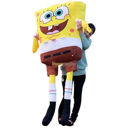 fancytrader xxxxl size 71 inches 180 cm biggest spongebob giant plush stuffed spongebob free. Black Bedroom Furniture Sets. Home Design Ideas