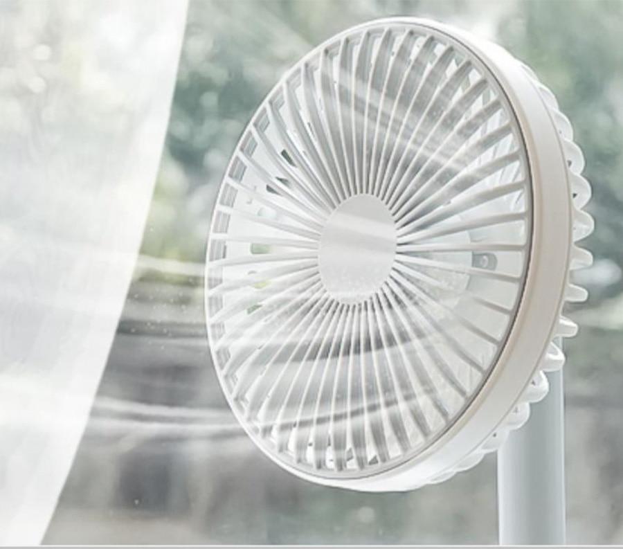 Petit ventilateur Usb muet rechargeable étudiant dortoir bureau mini ventilateur portable petit - 3