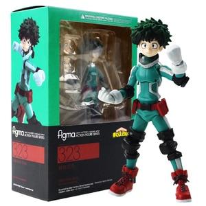 Image 1 - 15cm Figma 323 Midoriya Izuku Action Figure Mijn Hero Academia Anime Model Speelgoed Kinderen Gift