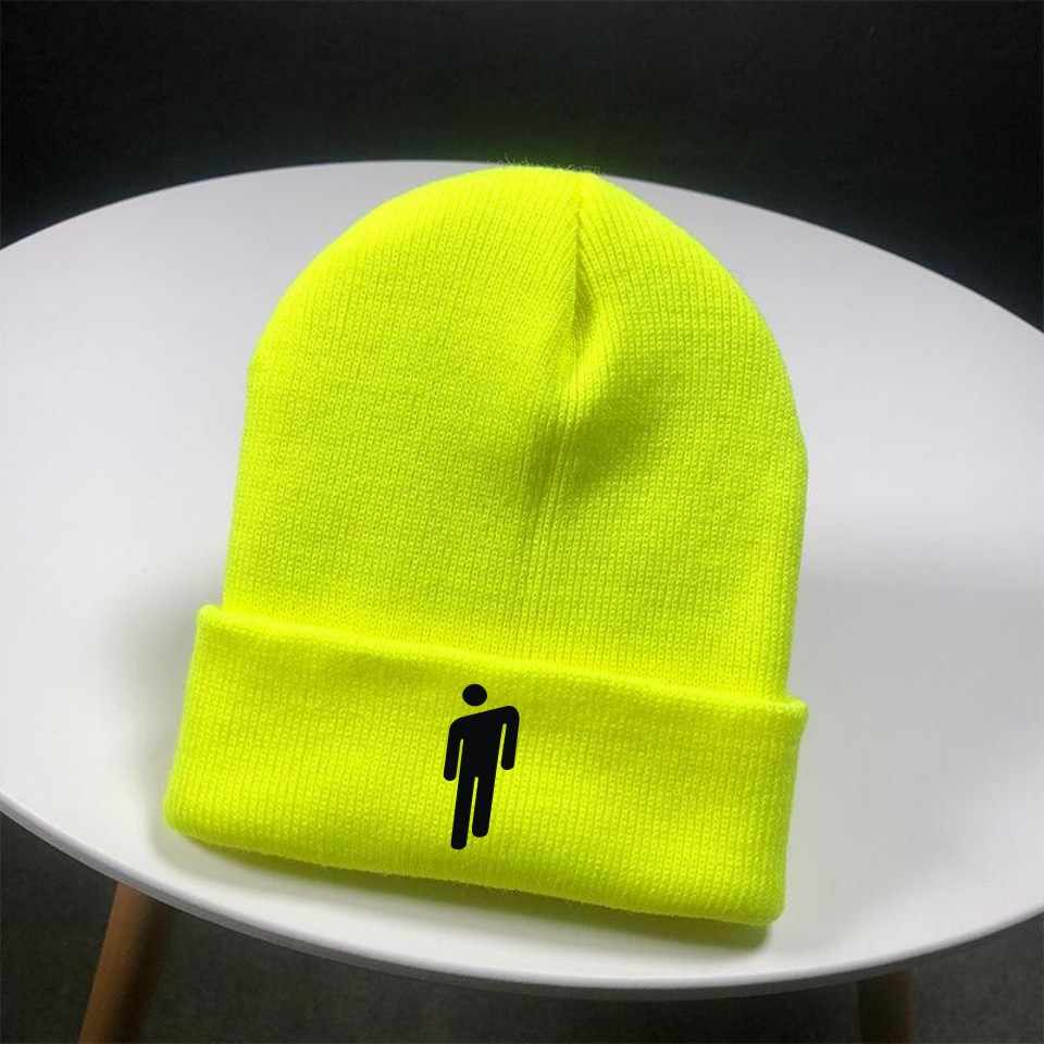 cc432328 ... Frdun tommy beanie with the billie eilish human stickman design 2019  hot sale casual beanie Spring ...
